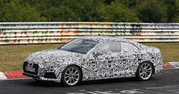 Les nouvelles Audi A5 et S5 s'amusent sur le Nürbugring