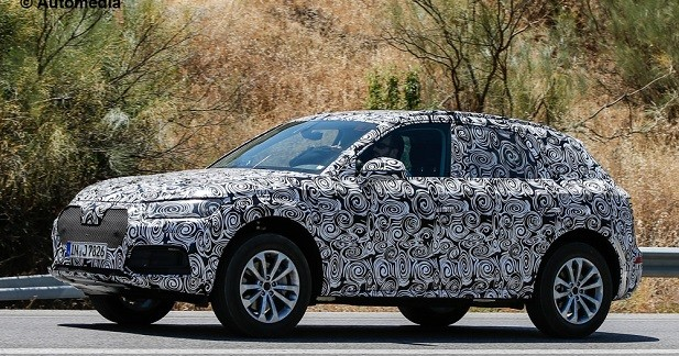 Le nouvel Audi Q5 aperçu pour la première fois