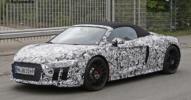 L'Audi R8 Spyder déjà sur la route