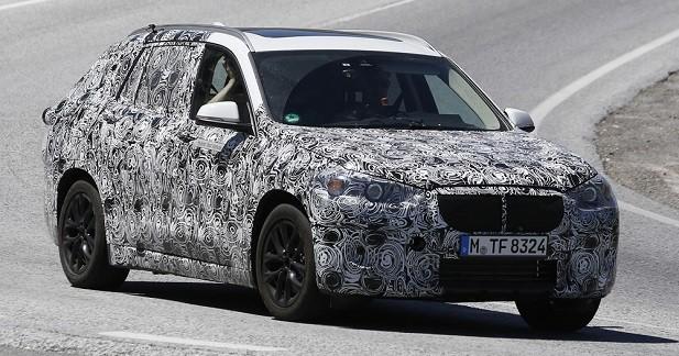 Un mystérieux crossover BMW surpris sur la route