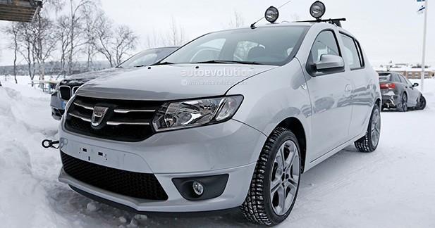 Une Dacia Sandero sportive surprise en Suède