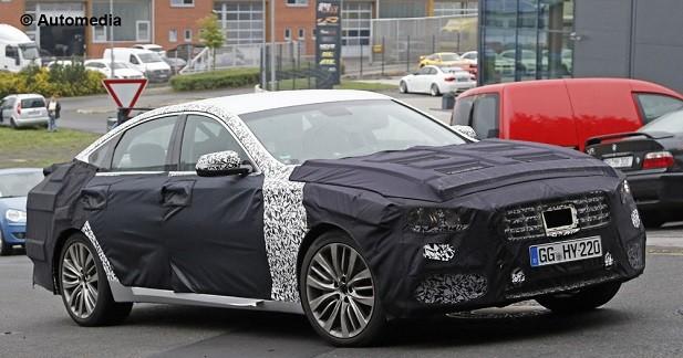 La Hyundai Genesis restylée inaugurera un V6 turbo