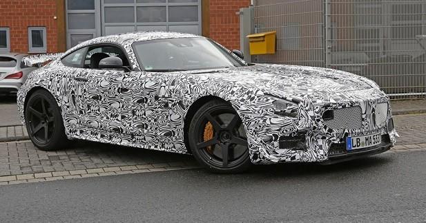 La Mercedes-AMG GT GT3 est de sortie