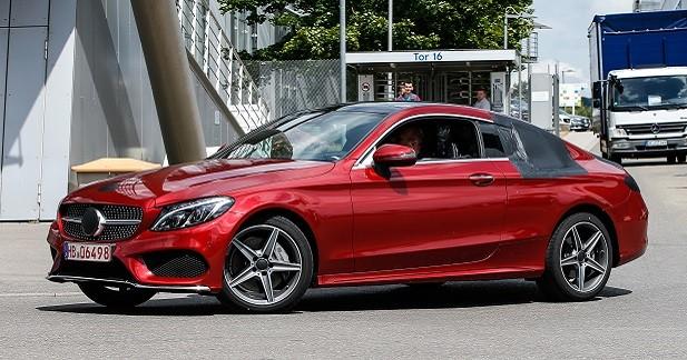 La Mercedes Classe C Coupé surprise quasiment nue