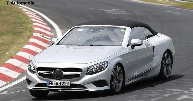 La Mercedes Classe S Cabriolet à l'assaut du Nürburgring