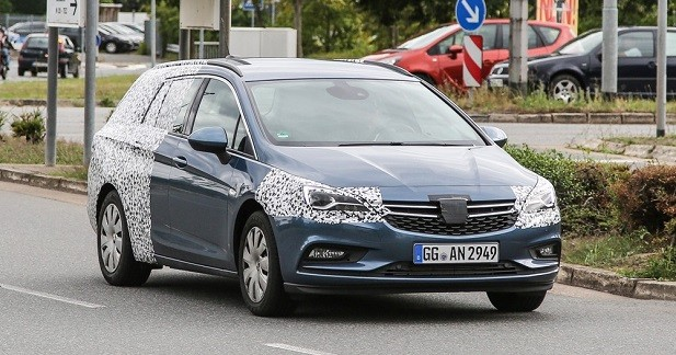 Opel Astra Sports Tourer: le break déjà sur la route