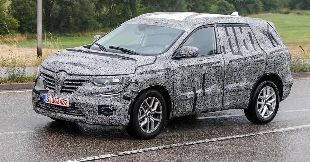 Le successeur du Renault Koléos aura un museau de Talisman