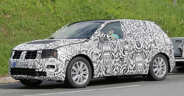 Le nouveau Volkswagen Tiguan se dévoile un peu plus