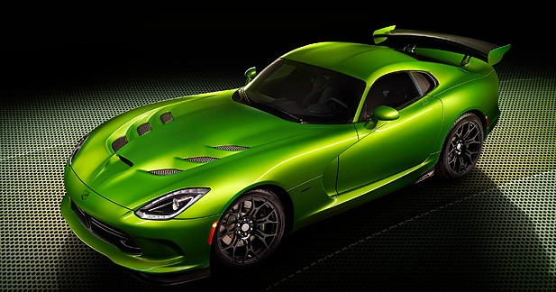 SRT Viper Stryker Green : une Viper verte de rage