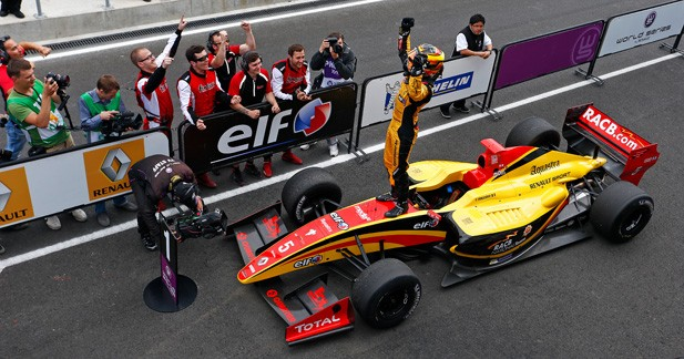 WSR - Formule 3.5 : carton plein pour Vandoorne