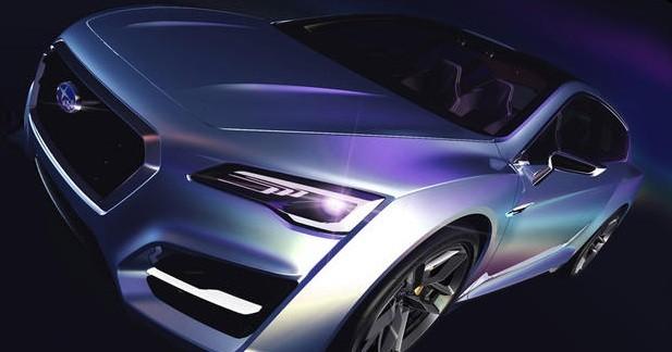 Subaru Advanced Tourer Concept : Vaisseau spécial...