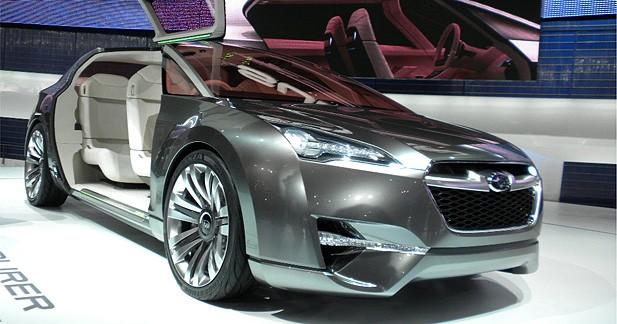 Subaru Hybrid Tourer Concept : à la croisée des chemins