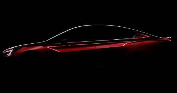 Subaru tease le concept Impreza berline