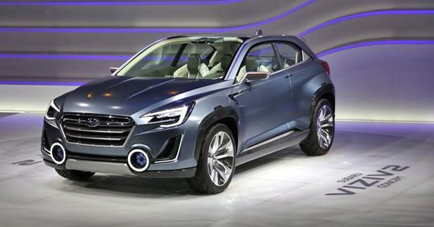 Subaru Viziv 2 Concept : l'hybride diesel à conduite autonome