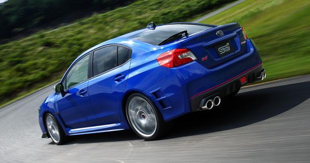 Subaru WRX STI S207: sport à tout prix