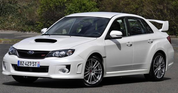 Subaru lance une série collector de la WRX STI S