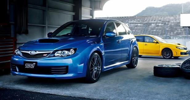 Subaru WRX STI Spec C 2011 : Chasse aux kilos superflus