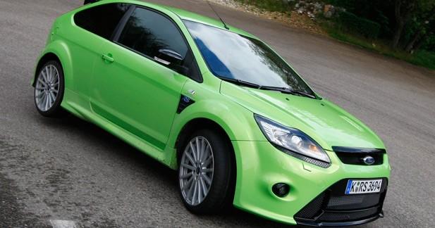 Ford Focus RS : prévisions de ventes largement dépassées