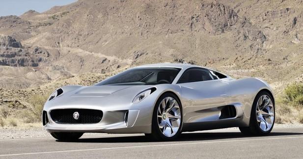 Jaguar travaille sur cinq prototypes de la C-X75