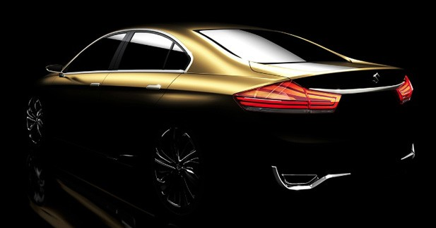 Suzuki Authentics Concept : à l'assaut du marché chinois