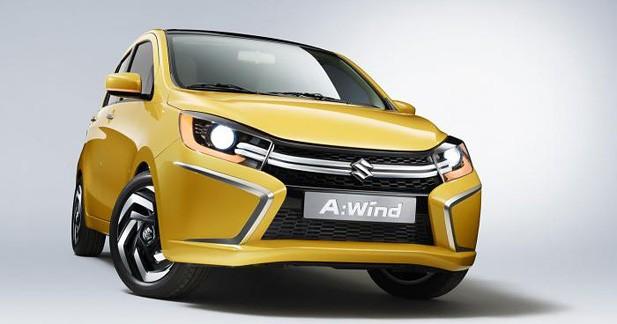 La prochaine Alto étrennera le nouveau style Suzuki