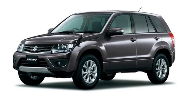 Suzuki offre un lifting au Grand Vitara japonais