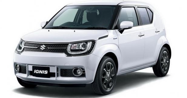 Suzuki Ignis: le remplaçant du Jimny?