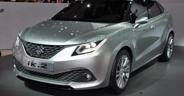 Suzuki iK-2: la nouvelle Swift en filigrane