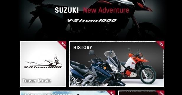 Suzuki lève le voile sur la V-Strom 1000 !