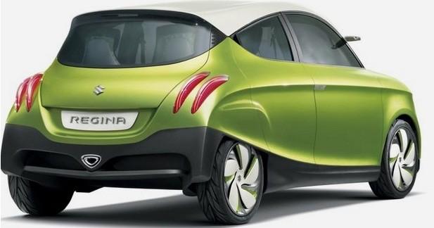 Suzuki Regina Concept : Baroque assumé
