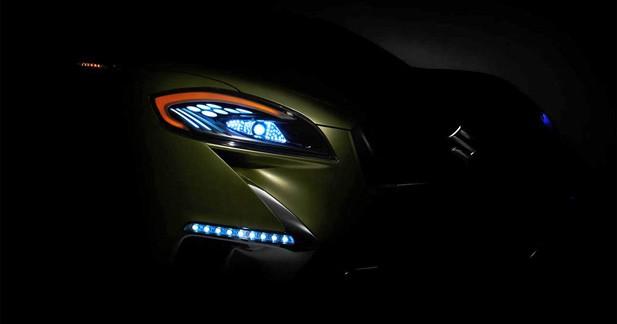 Suzuki présente un premier teaser de son futur S-Cross Concept