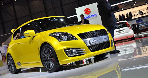 Suzuki Swift S-Concept : Prime au plumage ?