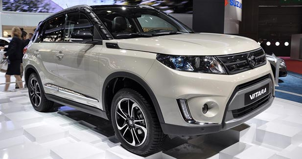 Mondial Auto 2014 : Suzuki Vitara