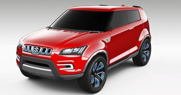 Suzuki XA Alpha Concept : l'Evoque en ligne de mire ?