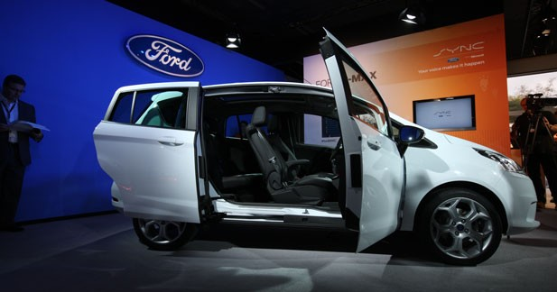 Ford B-max : communicant et high tech