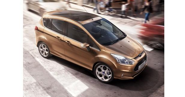 Le Ford B-Max préviendra des collisions en ville