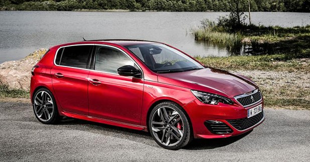 peugeot 308 gti la lionne partir de 37 200 euros. Black Bedroom Furniture Sets. Home Design Ideas