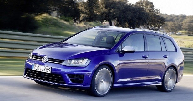 volkswagen golf r sw 45 700 euros pour le break sous. Black Bedroom Furniture Sets. Home Design Ideas