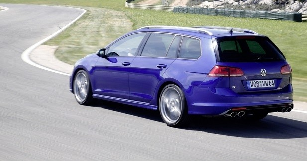volkswagen golf r sw 45 700 euros pour le break sous hormones. Black Bedroom Furniture Sets. Home Design Ideas