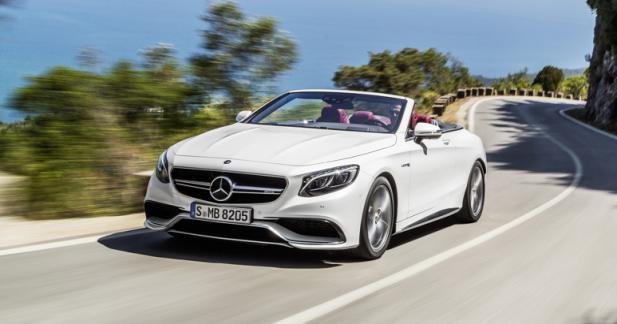Mercedes Classe S Cabriolet: les tarifs