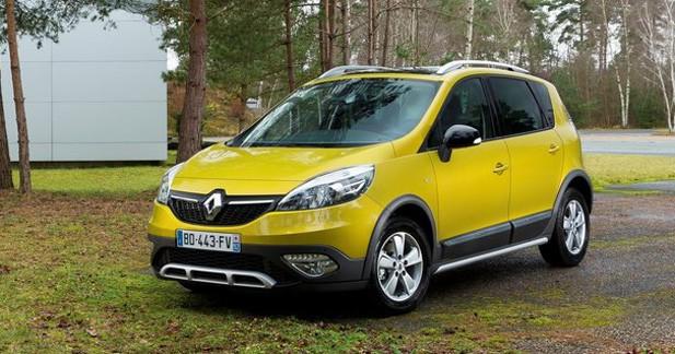 Tarifs Renault Scénic X-Mod : à partir 25.450 €