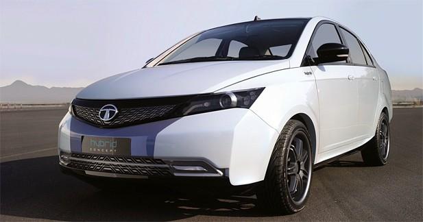 Tata Indigo Manza Hybrid Concept : Offensive indienne !