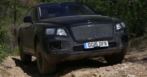 Le Bentley Bentayga se laisse approcher de très près