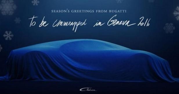 La Bugatti Chiron nous souhaite de joyeuses fêtes