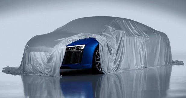 Nouvelle Audi R8: les phares laser sont de la partie