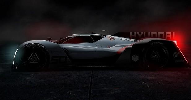 Hyundai N 2025 Vision GT: la LMP du futur selon Hyundai