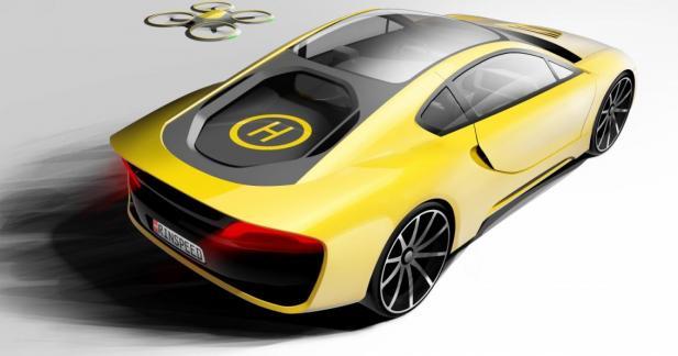 Rinspeed: un concept de sportive autonome au CES 2016
