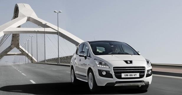 Peugeot 3008 HYbrid4 : ses émissions chutent à 91 g/km