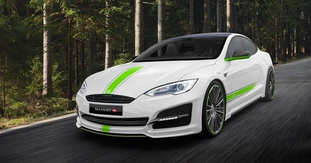 Mansory s'attaque à la Tesla Model S