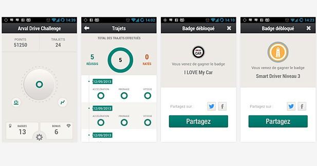 Une application smartphone pour optimiser sa conduite